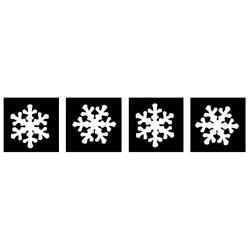 Sneeuwvlok 4x