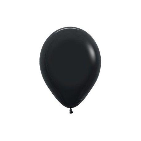 Latex Ballon Black 080