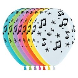 Ballon Sempertex Musical Notes