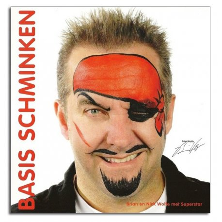 Basis Schminkboek Brain Wolfe