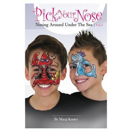 Schminkboek Pick Your Nose 3