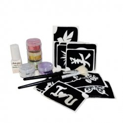 Glitter Tattoo Lady Set