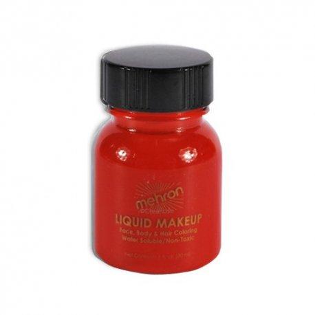 Mehron Liquid Make-up Red