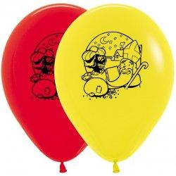 Ballon Sinterklaas en Zwarte Piet