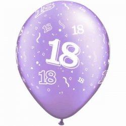 Ballon met 18