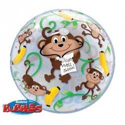 Bubble Get Well Soon Monkey