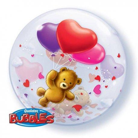 Bubble Teddy Beer Harten