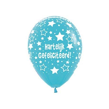Ballon Hartelijk Gefeliciteerd