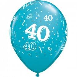 Ballon met 40