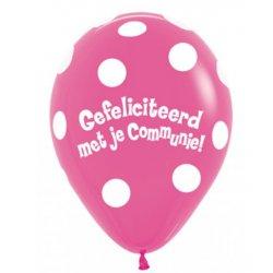Ballon Communie Fuchsia