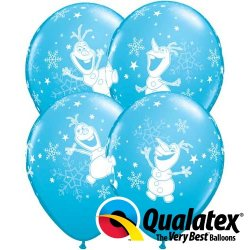 Ballon Frozen Olaf 6 stuks
