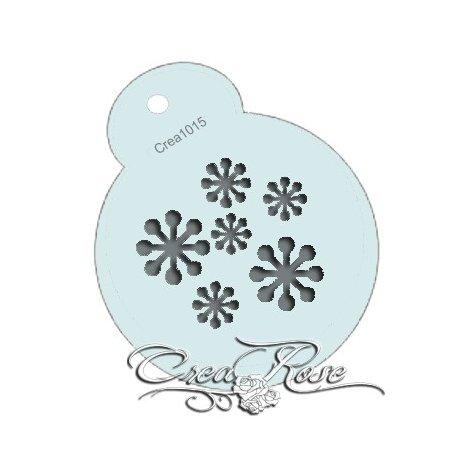Schmink Sjabloon Sneeuw CREA1015