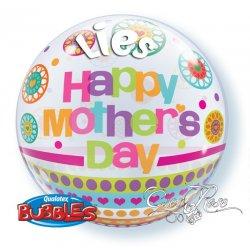 Bubble Helium Mothersday met Tekst