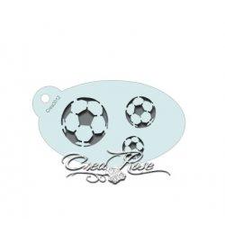 Schmink Sjabloon S Voetbal CREA3012