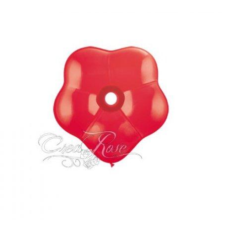 Qualatex Blossom, ballon in bloemvorm, Red