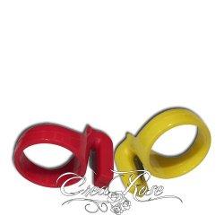 Ballon snijmesje in de vorm van een ring