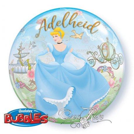 Bubble Helium Ballon Assepoester Dream Big met Tekst