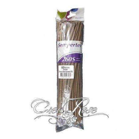 Sempertex 260S Nozzles Up Caramel 075