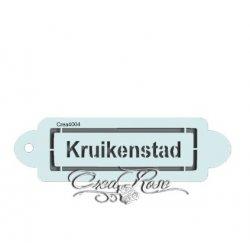 Schmink Sjabloon P Kruikenstad CREA4005