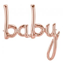 Folie Ballon Baby Rose Gold