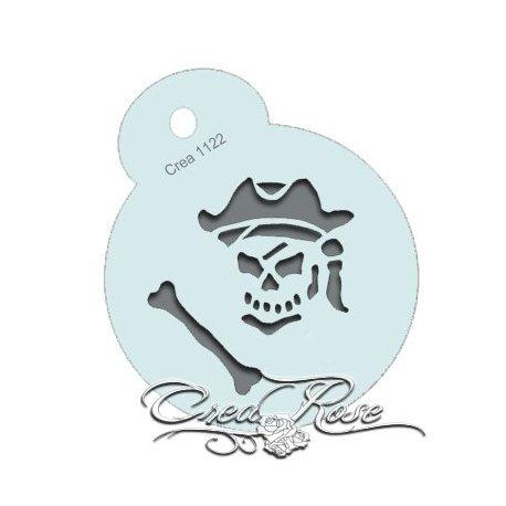 Schmink Sjabloon M Piraat CREA1122
