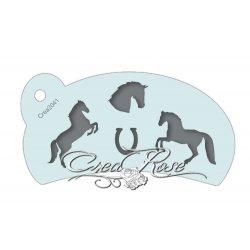 Schmink Sjabloon L Paarden CREA2041