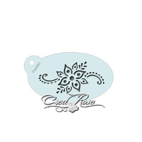 Schmink Sjabloon S Henna Bloemen CREA3062