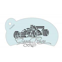 Schmink Sjabloon L Formule 1 Racewagen CREA2053