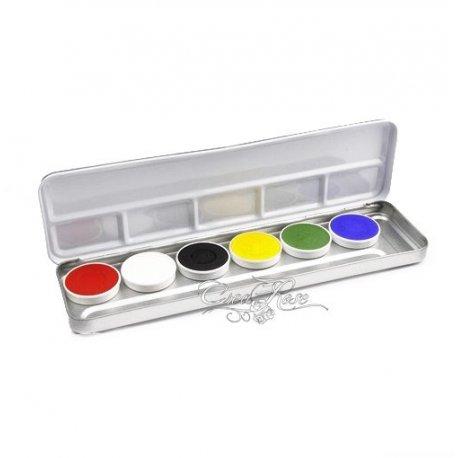 Superstar Schmink Palet 6 Bright Colors