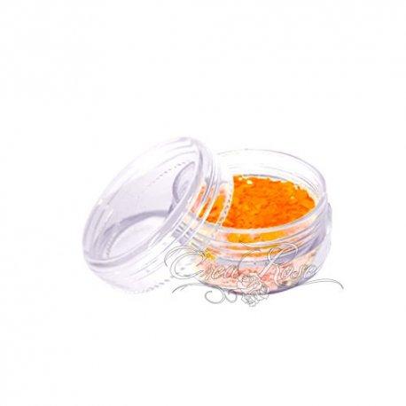 Superstar Chunky Glitter Fluorecent Orange