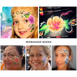 Workshop Vlinders en Rozen