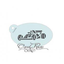 Schmink Sjabloon S Mini Formule 1 Auto CREA3084