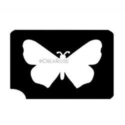 Glitter Tattoo Sjabloon Vlindertje
