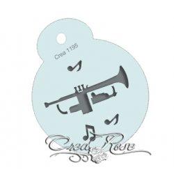 Schmink Sjabloon M Trompet CREA1195