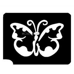 Glitter Tattoo Sjabloon Lieve Vlinder