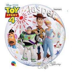 Bubble Helium Ballon Toy Story 4 met Tekst