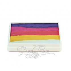 Professional Colours Splitcake Purple & Yellow Roses 50 gr.