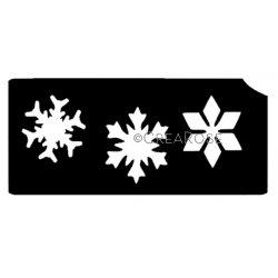 Glitter Tattoo Sjabloon Sneeuwsterren