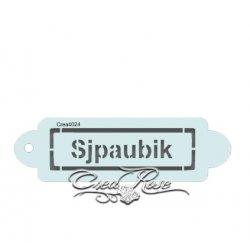 Schmink Sjabloon P Sjpaubik CREA4024