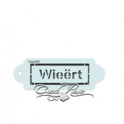 Schmink Sjabloon P Wieërt CREA4083
