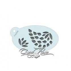 Schmink Sjabloon S Paisley Lotus Druppel CREA3095