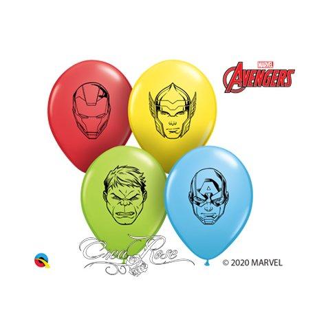 Qualatex Ballon Avengers Faces 5 inch