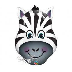 Folie Ballon Zany de Zebra