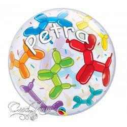 Bubble Helium Ballon Ballonhondjes met Naam